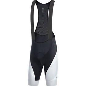 GORE WEAR C3+ Line Brand Bib Shorts Men black/white